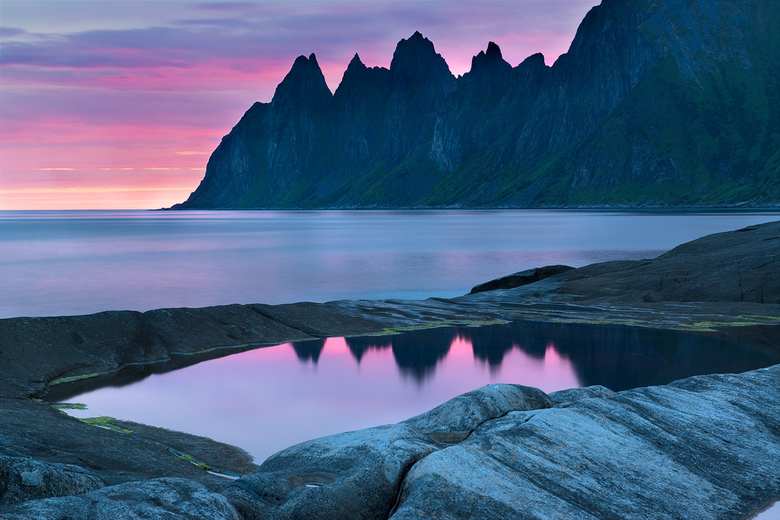 Photograph The dawn on the island of Senja by Andre Ermolaev on 500px