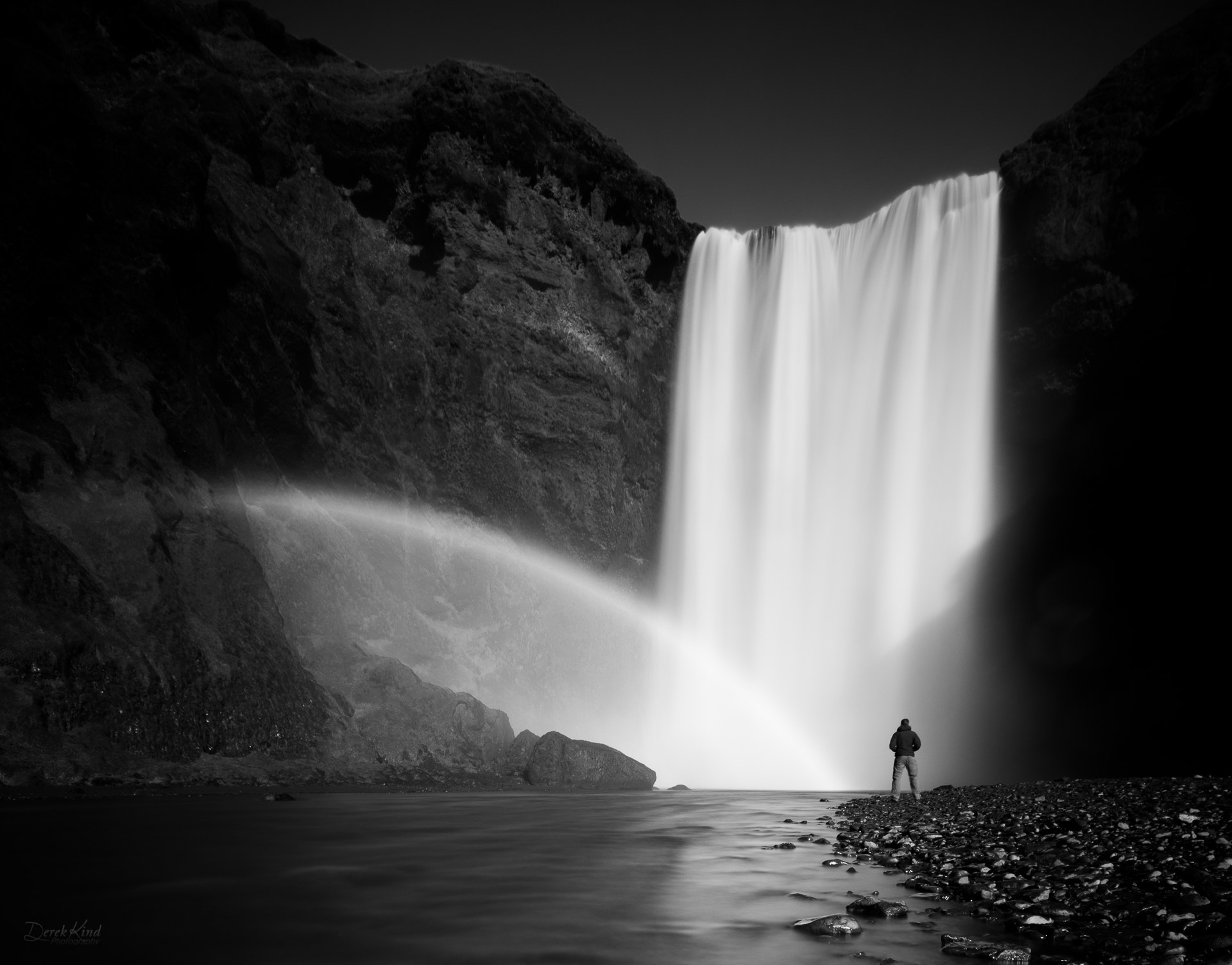 Photograph Skogafoss Selfy by Derek Kind on 500px