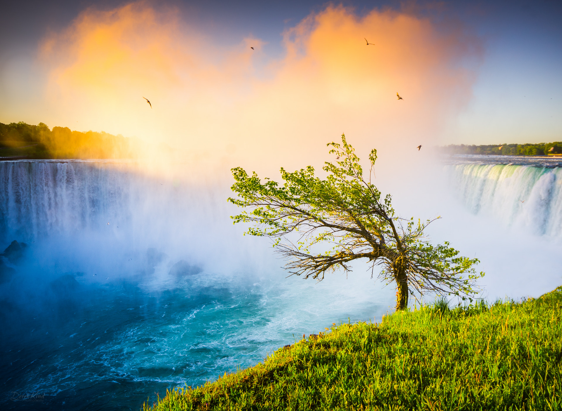 Photograph Another Beautiful Morning in Niagara by Derek Kind on 500px