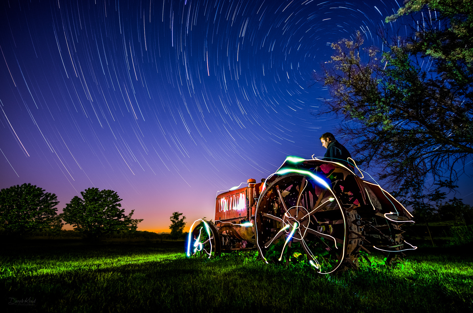 Photograph Farming by Starlight by Derek Kind on 500px