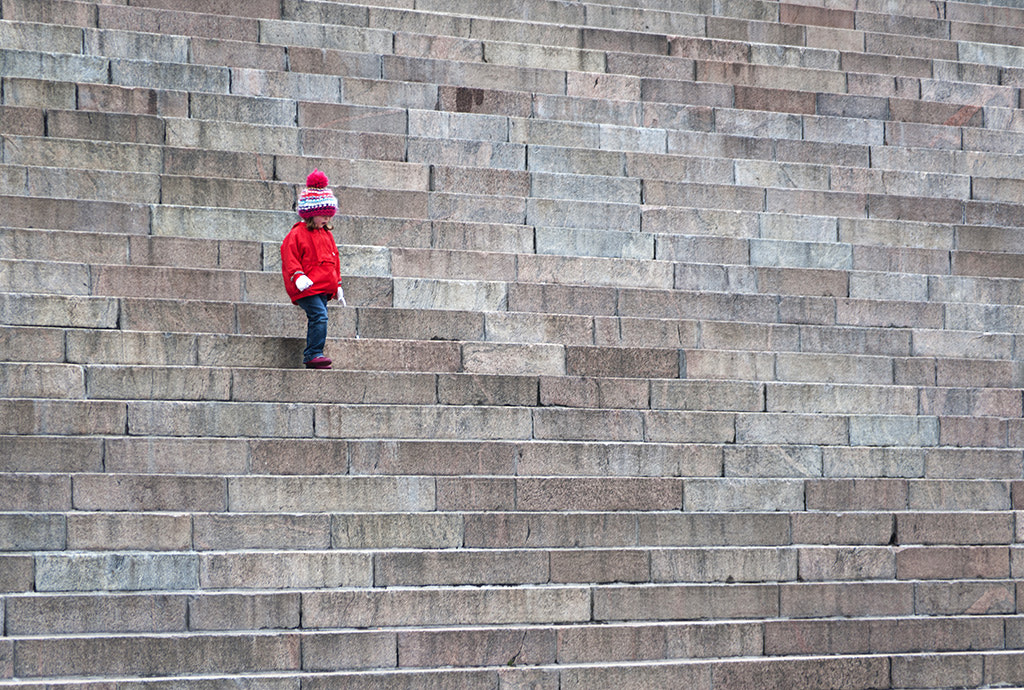 Photograph Down the Steps... by Andrew Chu on 500px