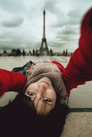 Selfportrait with Eiffel by Klassy Goldberg on 500px