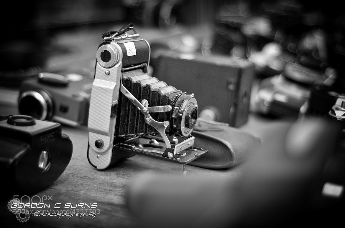 Photograph Retro Camera by Gordon C Burns on 500px