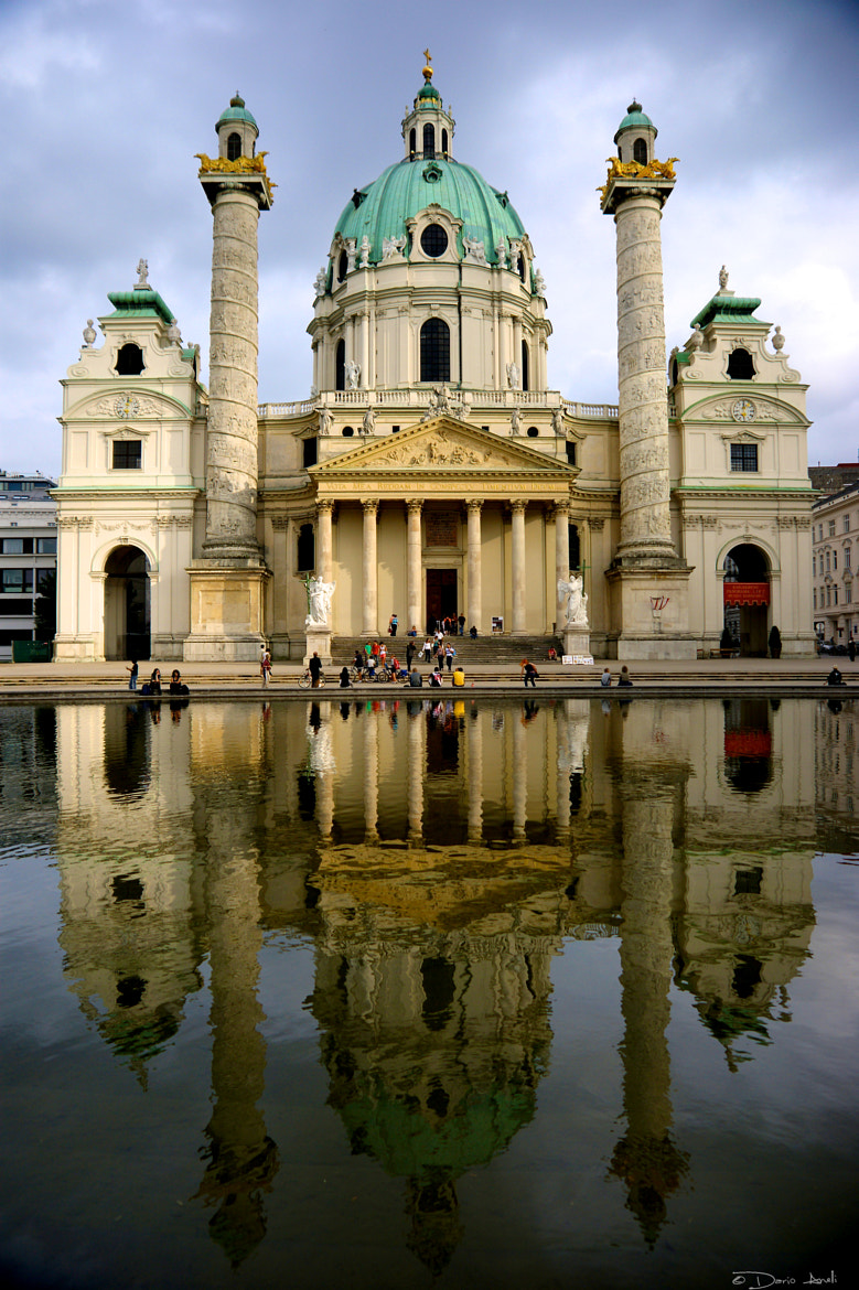 Photograph Karlskirche by Dario Anelli on 500px