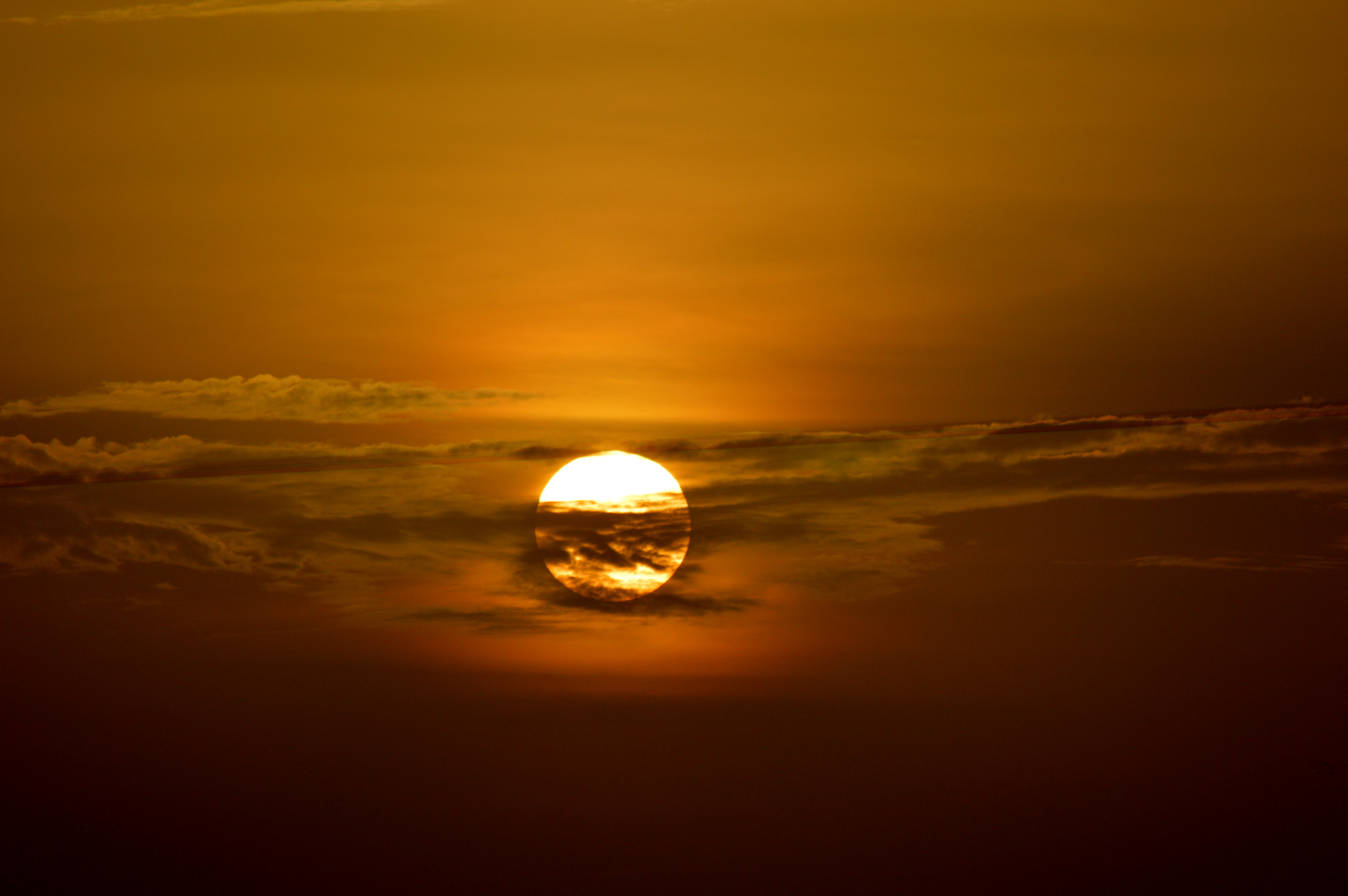 Photograph Cloudy Sunset... by Aishwary Mehta on 500px