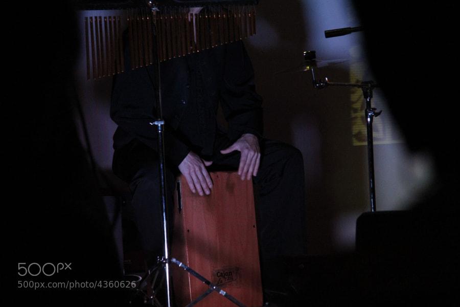 Un buen músico en La Cripta