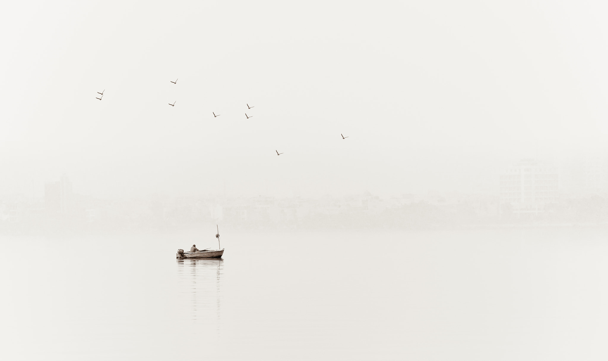 Photograph Boat minimal by Nima  Baharlooie on 500px