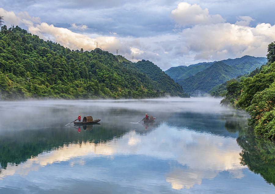 Photograph The tales of two fishermen by Alan Tan on 500px
