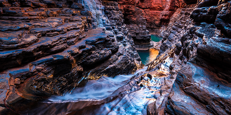 Inside Hancock Gorge by Jan Abadschieff on 500px.com