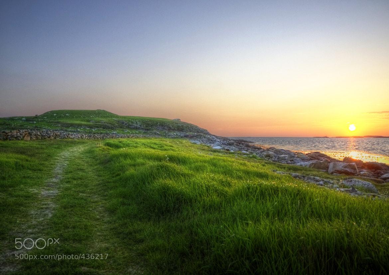 Photograph Blown sunset by Ivar Simonsen on 500px