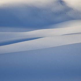 winter in st.anton am arlberg, tirol austria