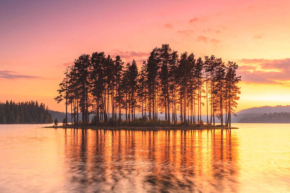 Photograph Lake in Fire by Evgeni Dinev on 500px