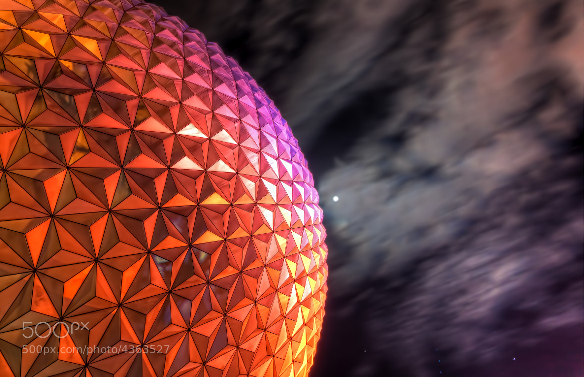 Photograph Epcot Ball: Center of the World by Chris Cowman on 500px