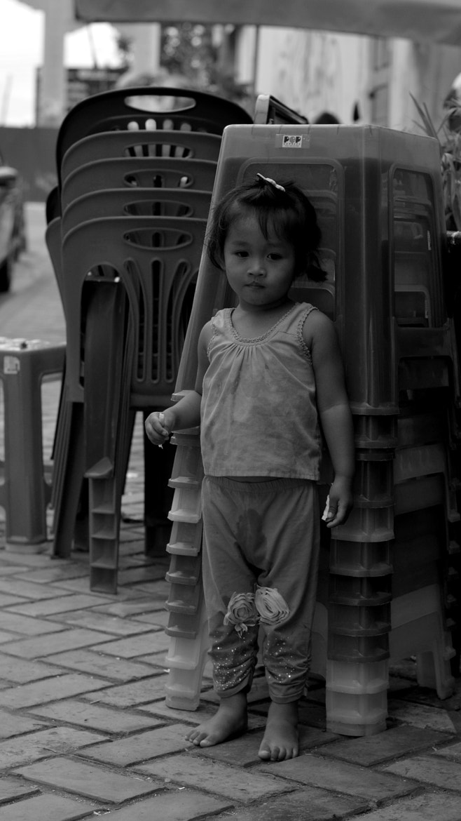 Photograph A Little Girl by Charlie HOANG on 500px