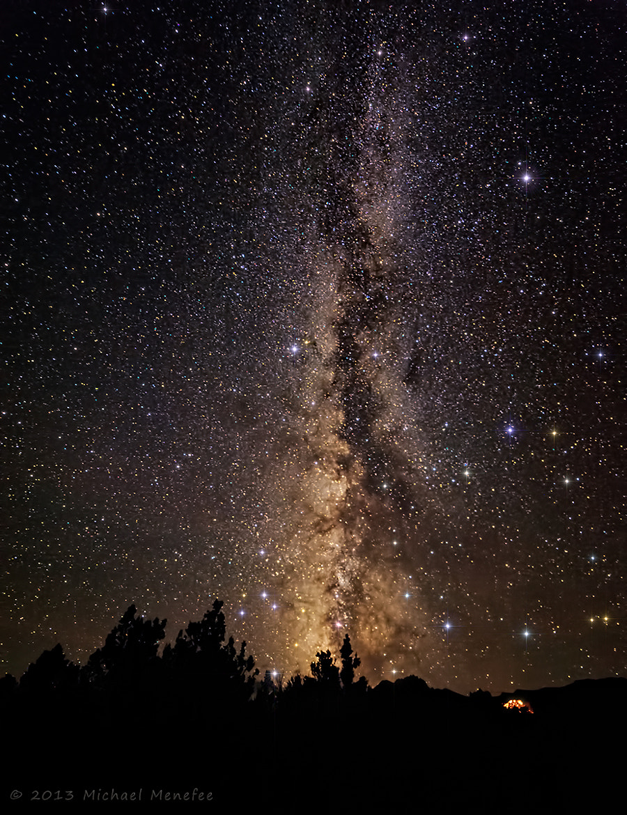 Photograph Milky Way in Nevada Basin and Range Dark Skies by Michael Menefee on 500px