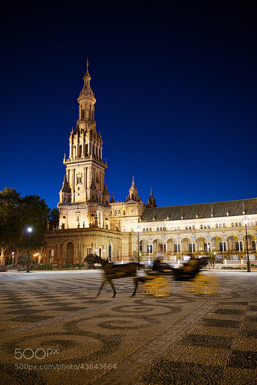 Photograph Plaza de España, Sevilla by David Kosmos Smith on 500px