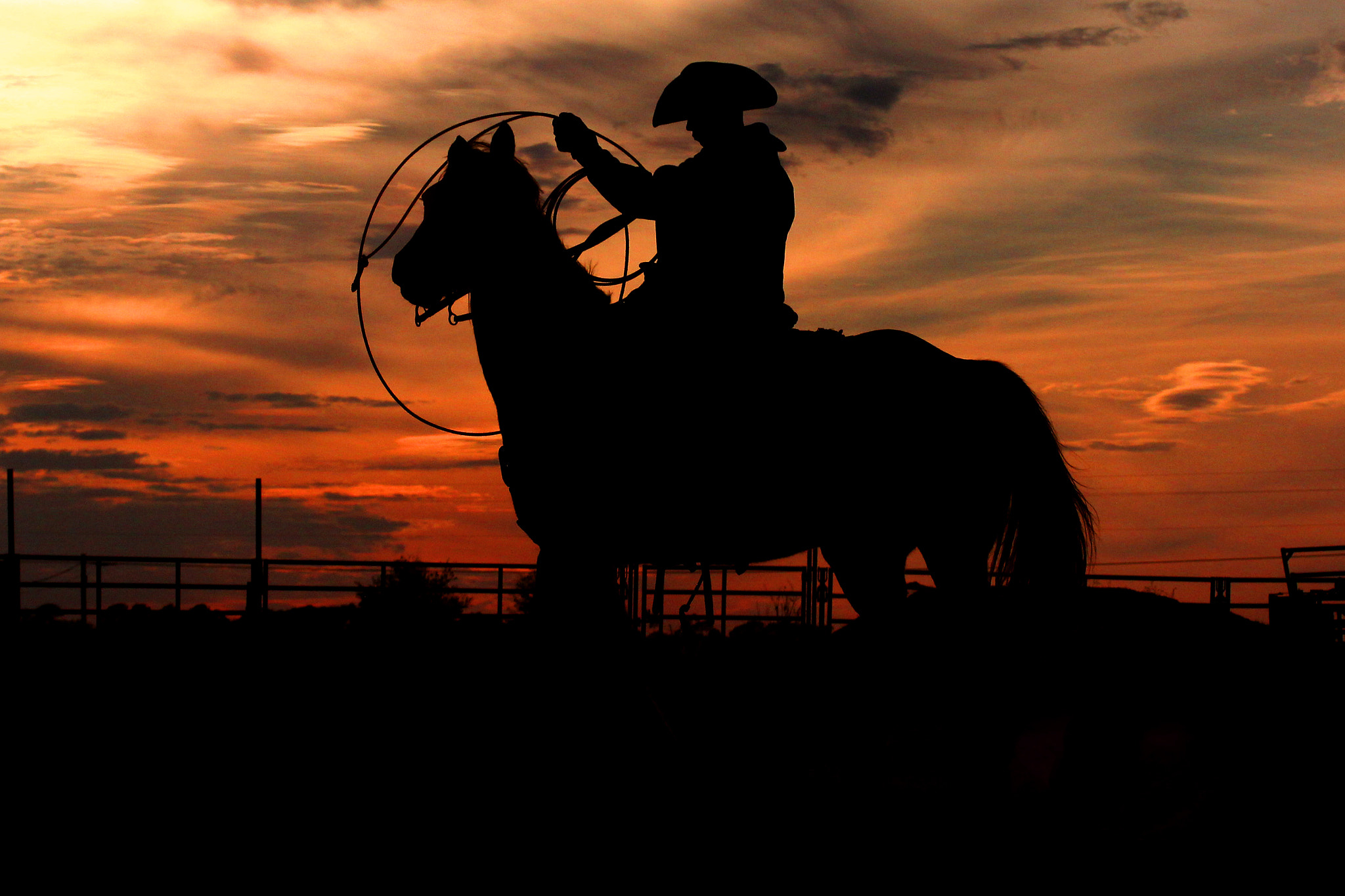 Photograph Rodeo Cowboy by Mitch Kloorfain on 500px