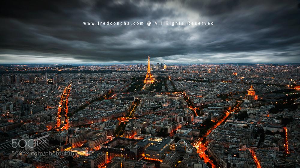 Photograph Paris by Fred Concha on 500px