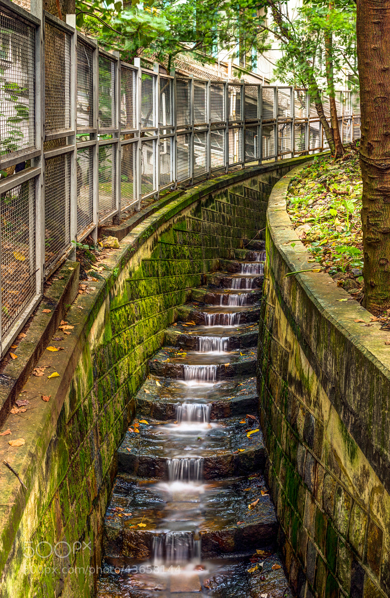 Photograph Urban Waterfall by Tristan O'Tierney on 500px