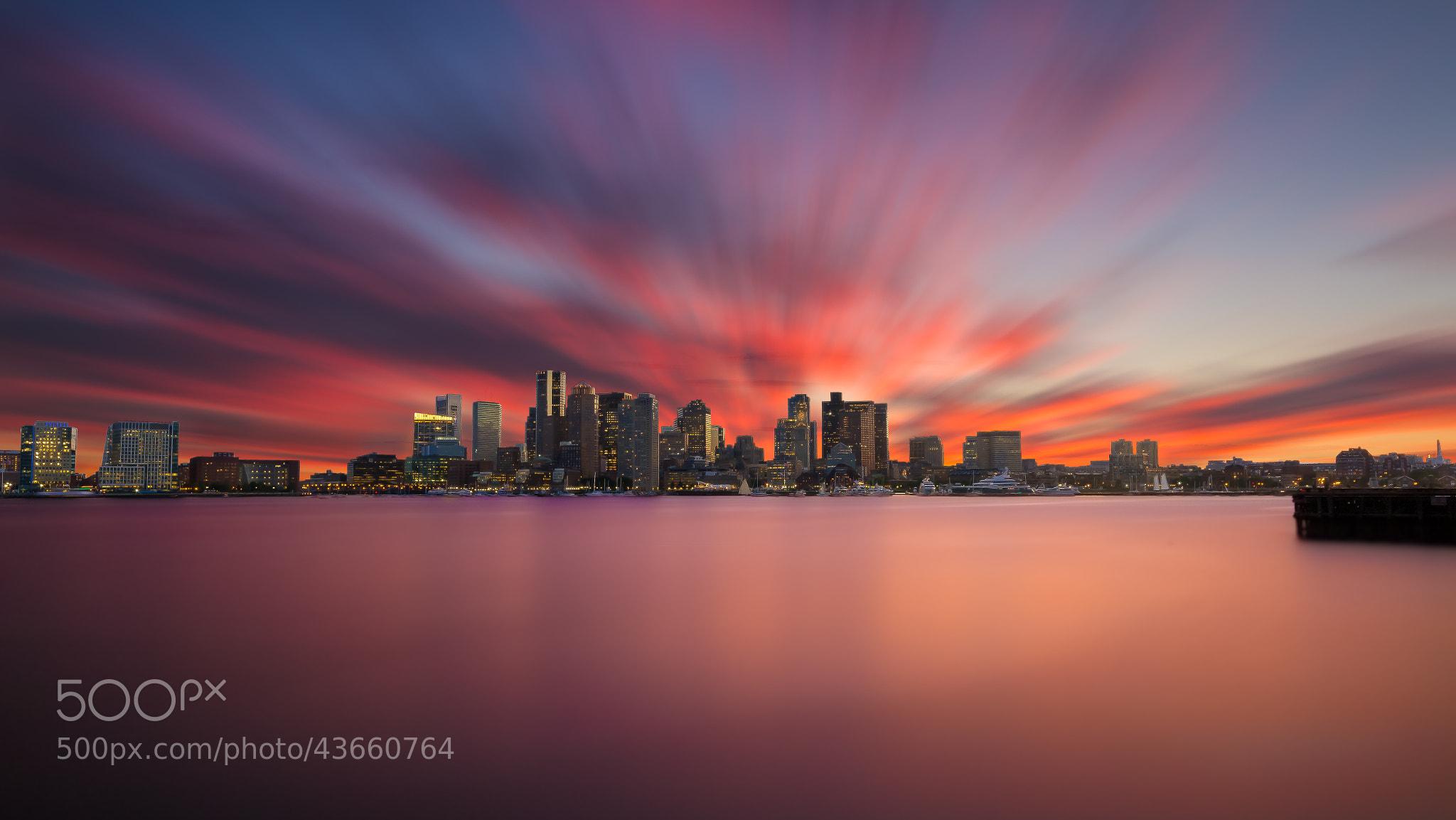 Photograph Boston Sunset by Kerim Hadzi on 500px
