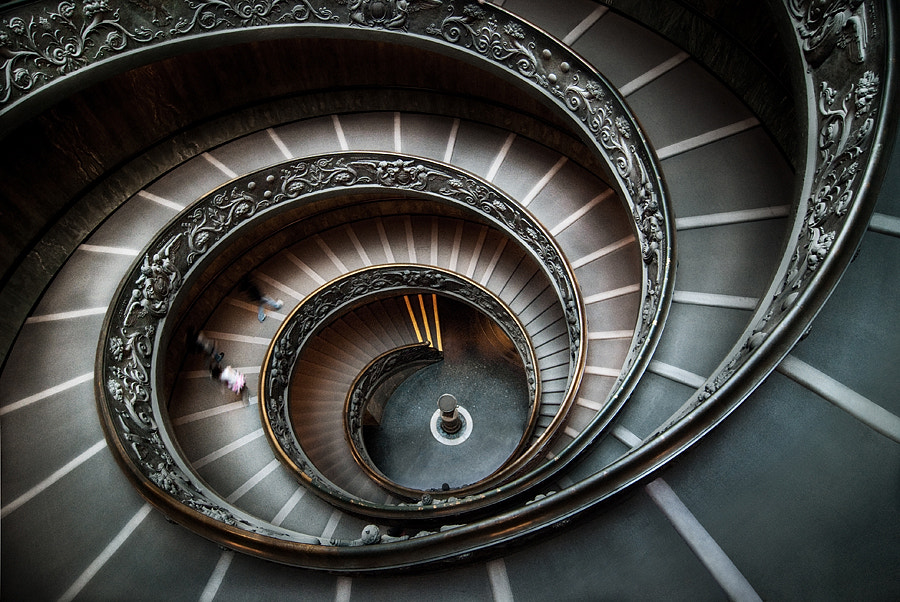 Photograph Stairway to heaven by Xavier BEAUDOUX on 500px
