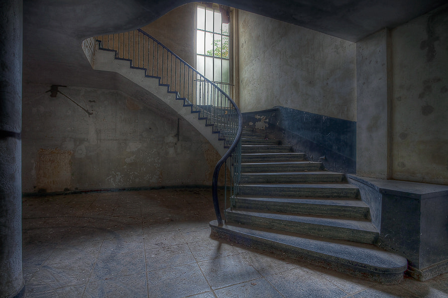 Photograph Stairwell II by Kai Schmeling on 500px