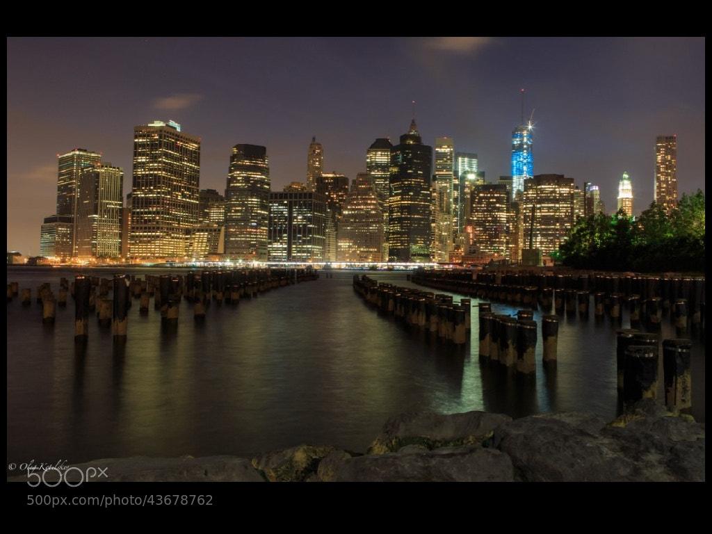 Photograph NY at night by Oleg Kotelskiy on 500px