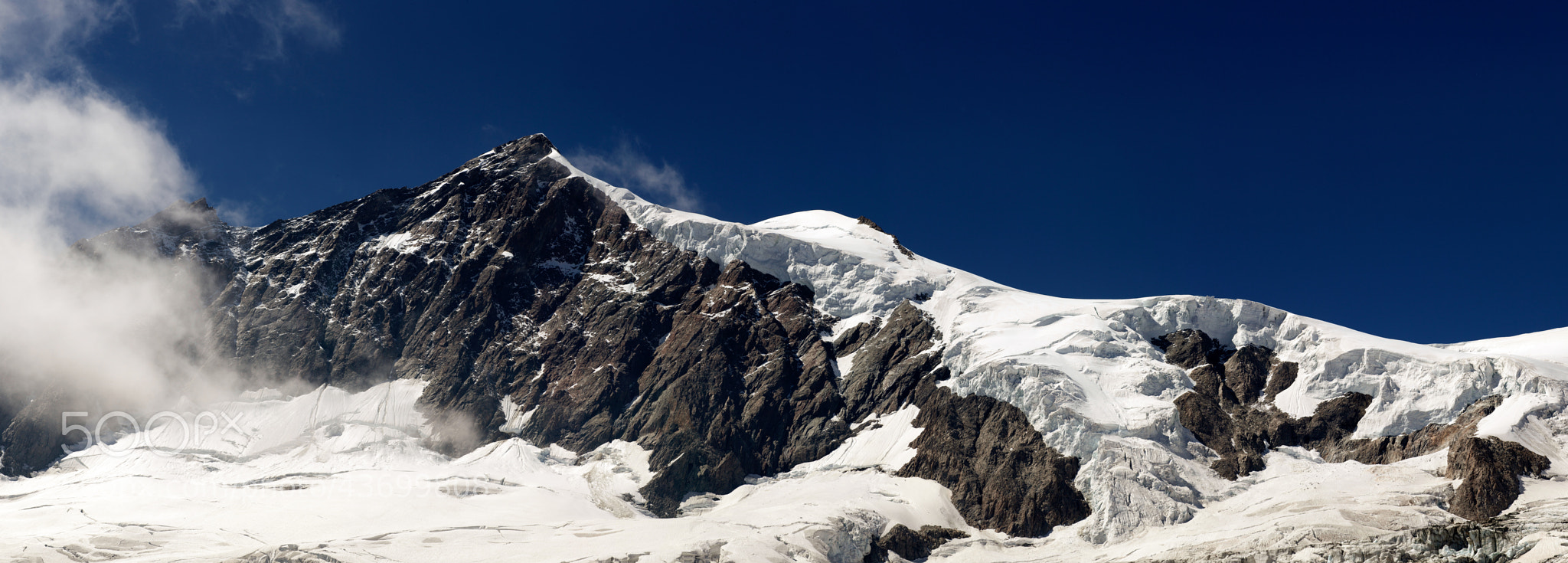 Photograph Aletschorn 4193mt by giorgio debernardi on 500px