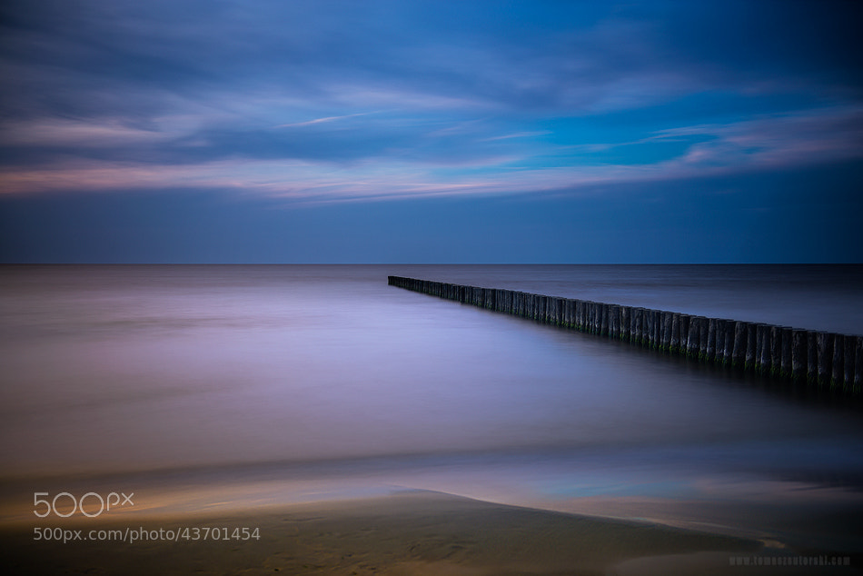Photograph Breakwater by Tomasz Suterski on 500px
