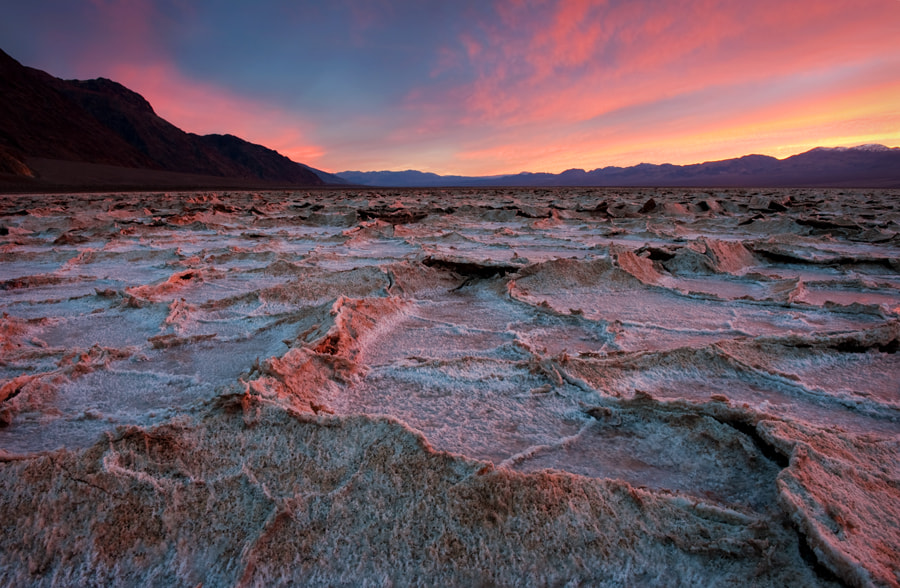Photograph Badwater Salt Flats by Sharon Willson on 500px