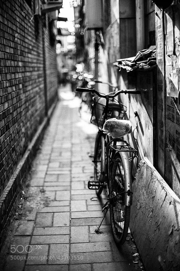 Photograph Old street old bicycle by fox eric on 500px