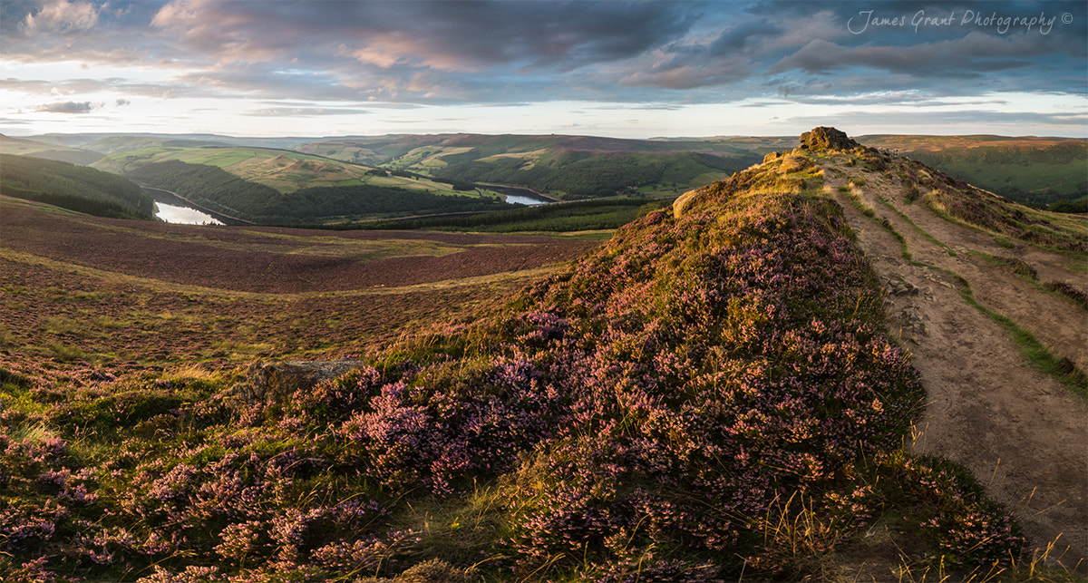 Photograph Win Hill Panoramic by James Grant on 500px