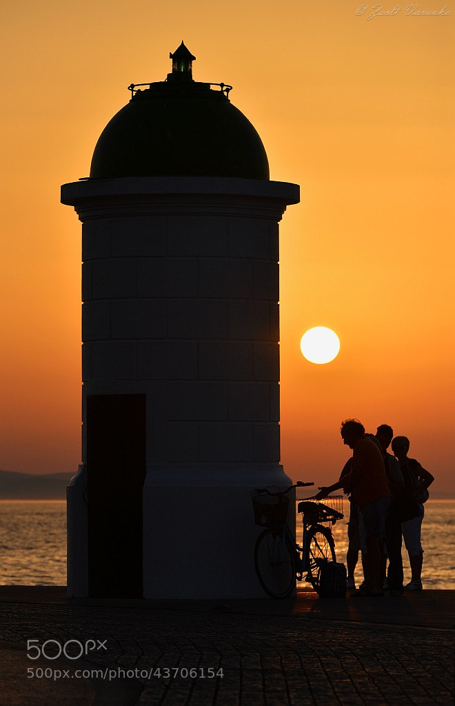 Photograph lighthouse in gold by Zsolt Varanka on 500px