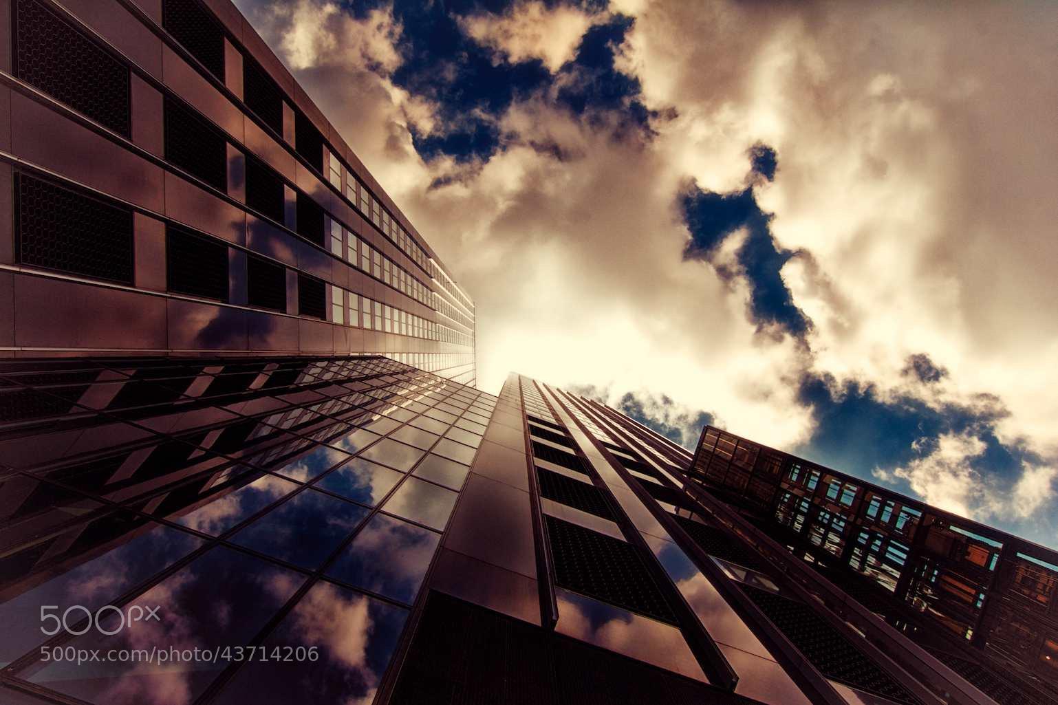 Photograph Rotterdam Skyscrapers I by Thomas Bonfert on 500px