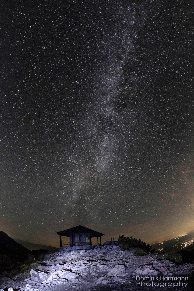 Photograph under the milky way by Dominik Hartmann on 500px