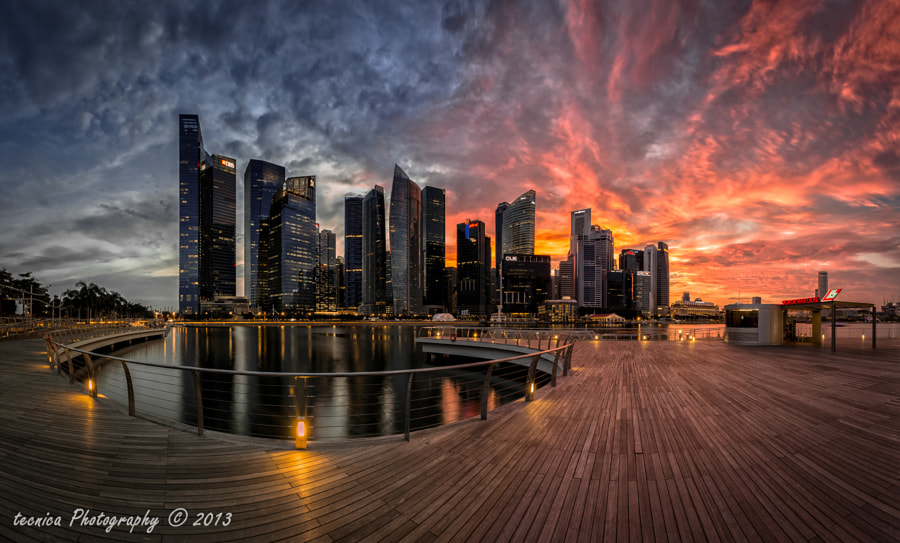 most beautiful cities in the world -Shenton Fire by t e c n i c a on 500px.com