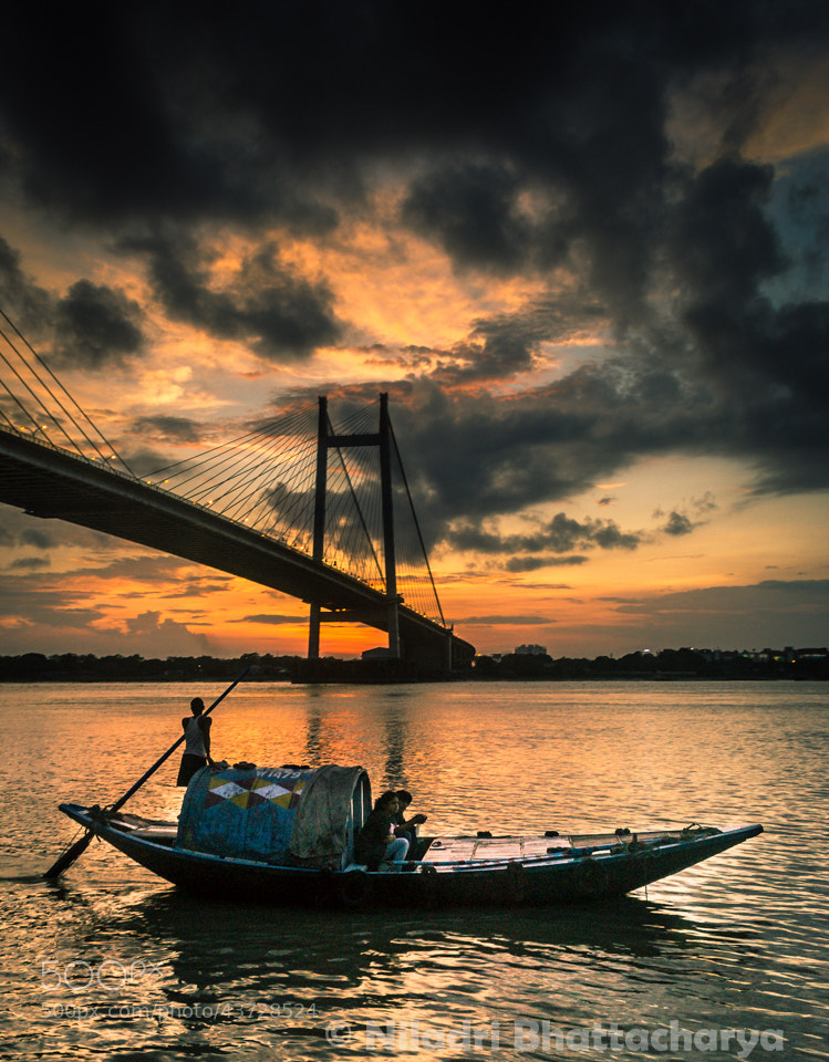Photograph An evening in Kolkata by Niladri Bhattacharya on 500px