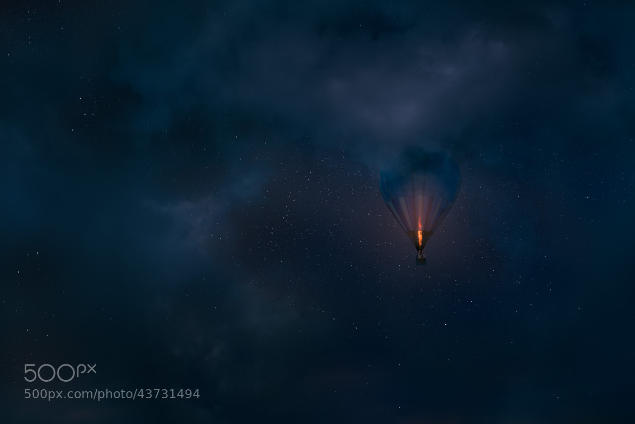 Photograph Night Flight by Mikko Lagerstedt on 500px