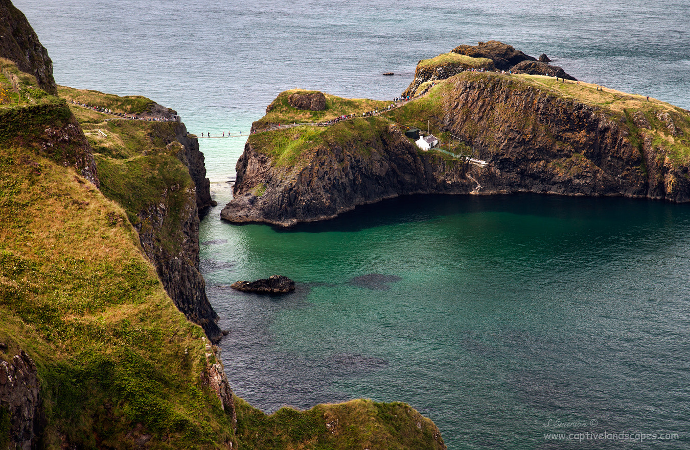 Photograph Carrick-a-Rede by Stephen Emerson on 500px
