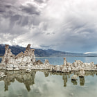 Постер, плакат: Reflected Storms at Mono Lake