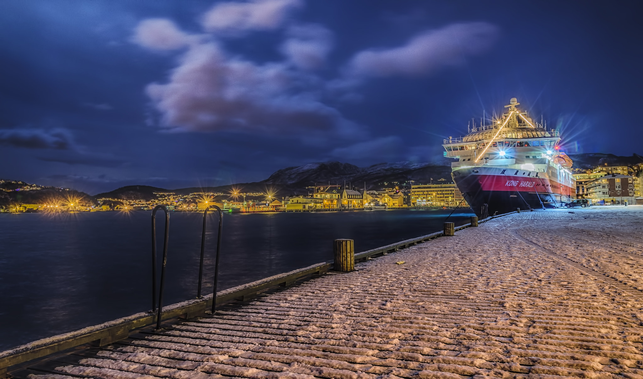 Photograph The Coastal Express by Espen Hanssen on 500px