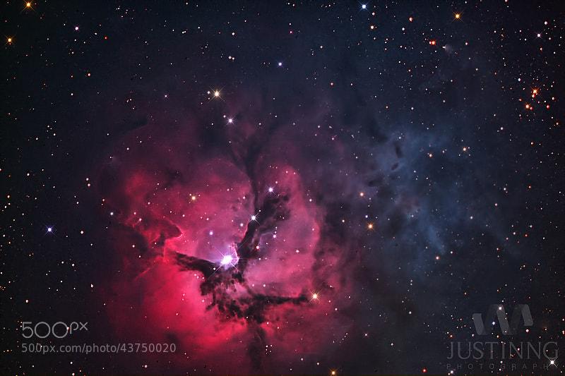 Photograph Trifid Nebula by Justin Ng on 500px