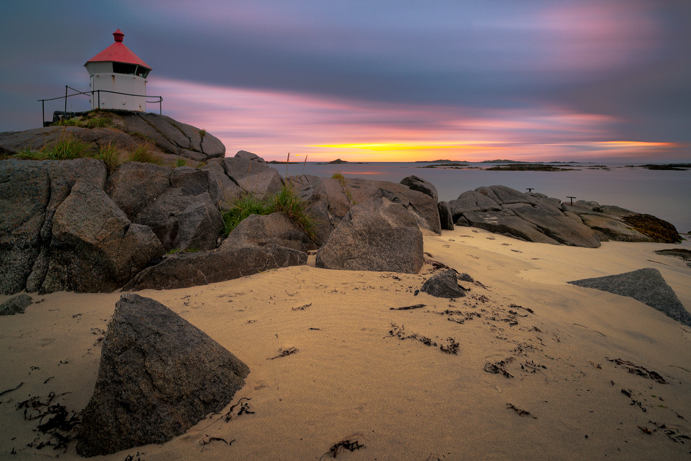 Photograph Eggum Lighthouse by Magnus Larsson on 500px