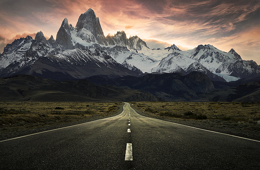 Mount Fitzroy at sunset by Jimmy Mcintyre on 500px.com