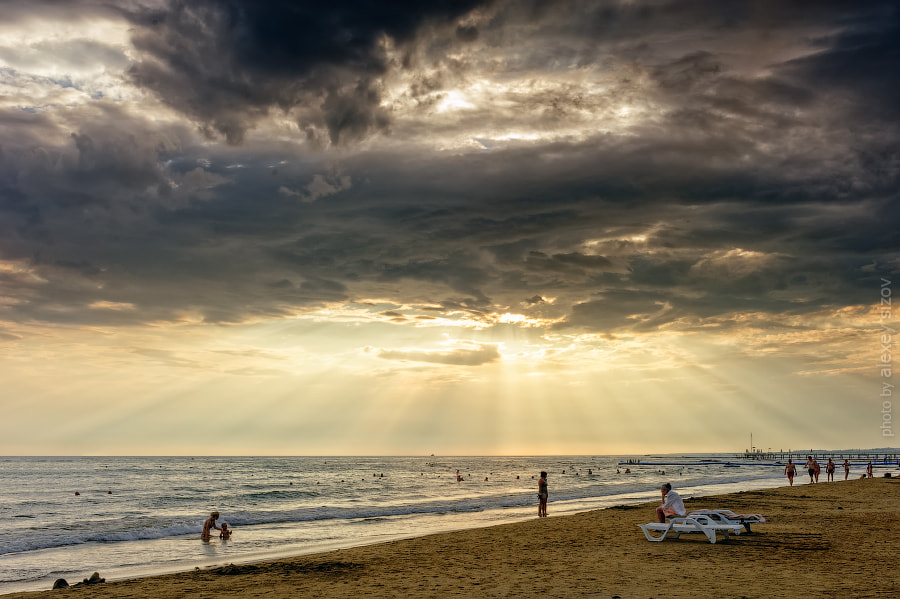 Photograph An Evening on the Beach by Alexey Sizov on 500px