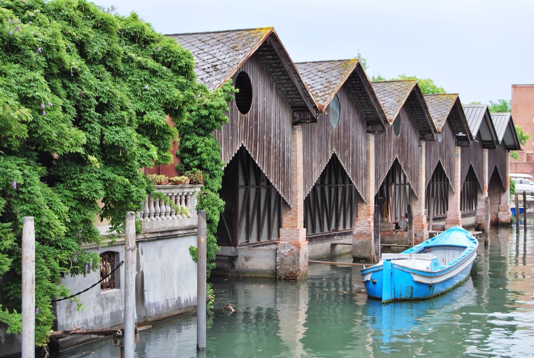 Photograph Boathouses by Mwap38  on 500px