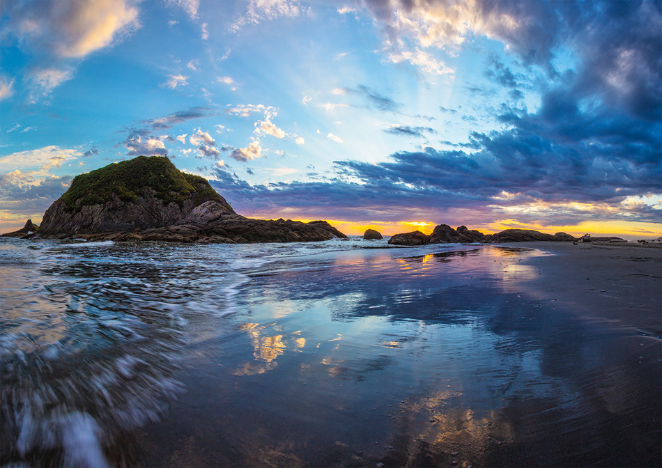 Photograph Ocean Sunset by Alex Gubski on 500px