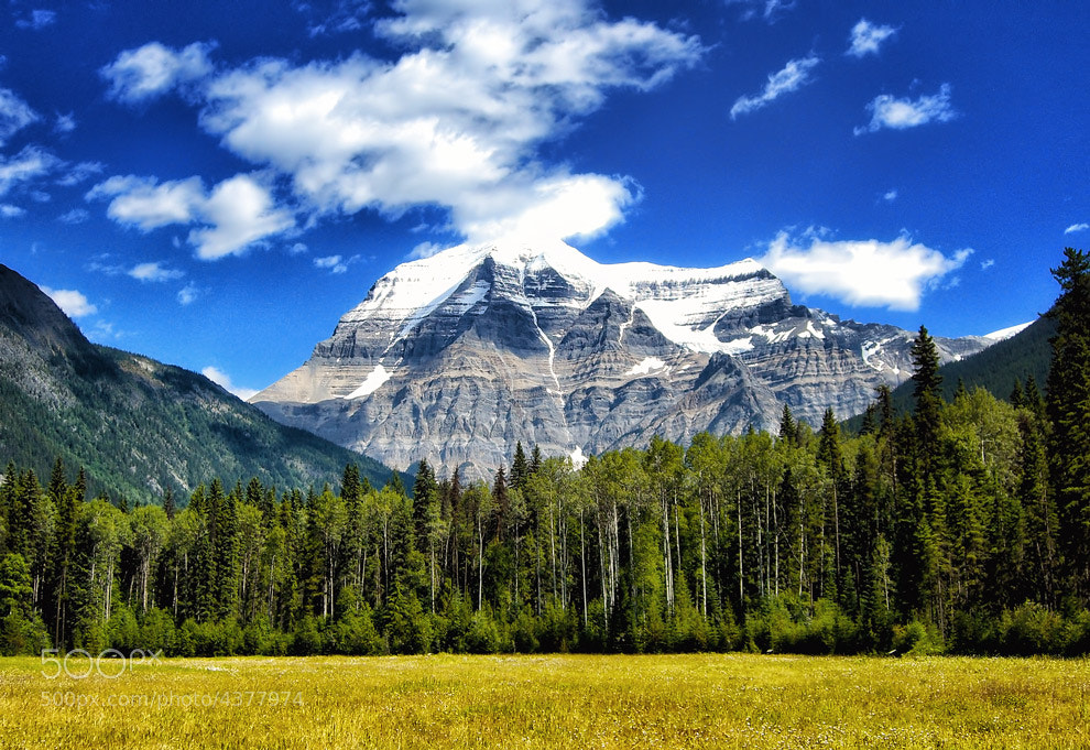 Photograph Mount Robson by Greg McLemore on 500px