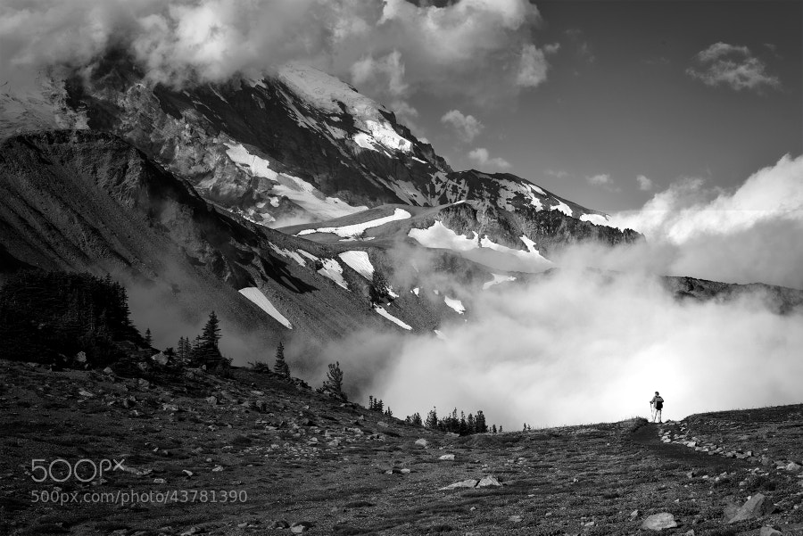 Photograph The Hiker by Ryan Buchanan on 500px
