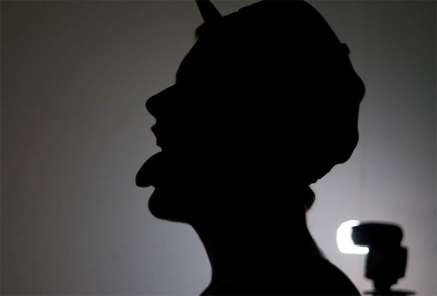 Photograph Self silhouette by Andrew Griffin on 500px